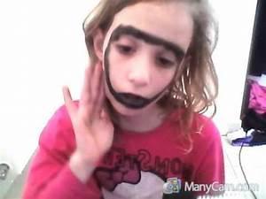Déguisement Qui Fait Peur : maquillage qui fait peur youtube ~ Melissatoandfro.com Idées de Décoration
