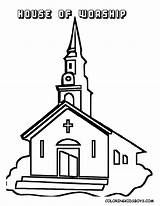 Church Coloring Pages sketch template