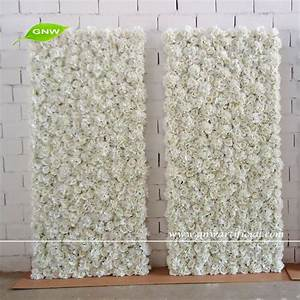 Gnw 2m Wedding Stage Backdrop Decoration With Silk Flower