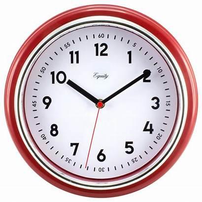 Clock Wall Retro Analog Equity Inch Clocks
