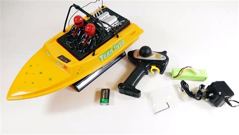Rc Jet Boat Tear Into by New Radio Model Nqd Tear Into Jet Propeller