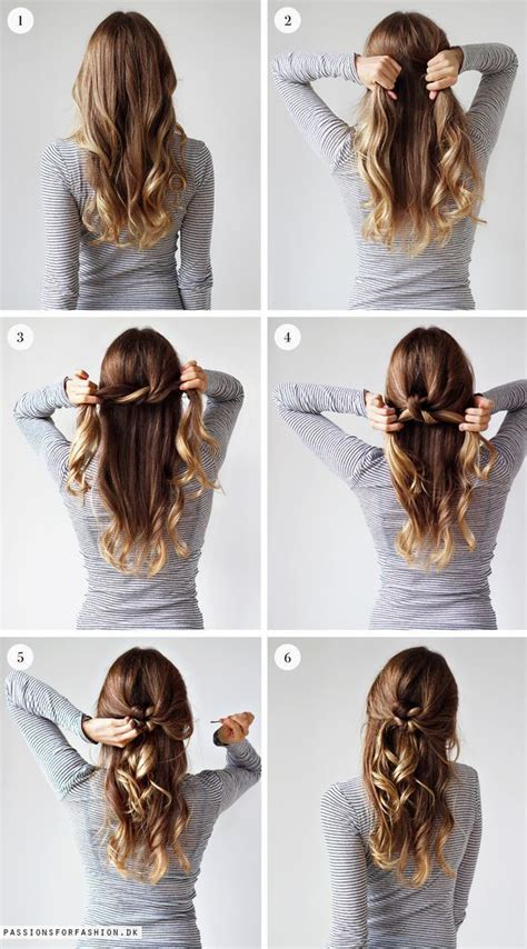 weekly hairstyle tie  knot hairstyles hair styles