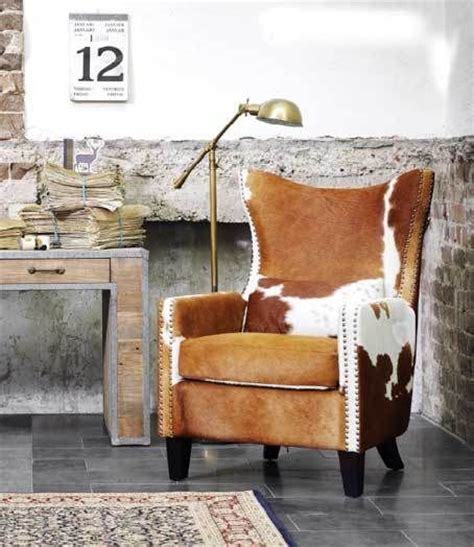 cowhide leather chair 25 best ideas about cowhide chair on cowhide