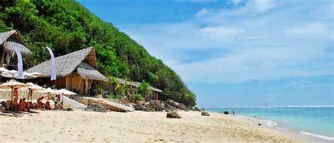 wisata pantai bali daftar  pantai indah   sepi