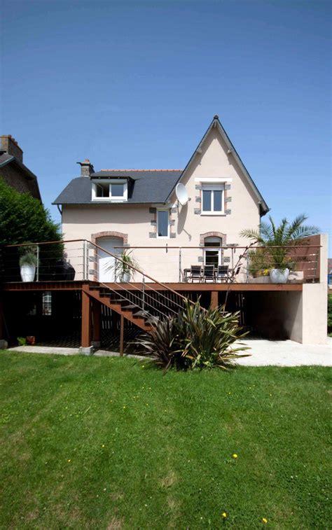 amenagement exterieur maison individuelle terrasse maison individuelle am 233 nagement ext 233 rieur la h 233 nonnaise 22
