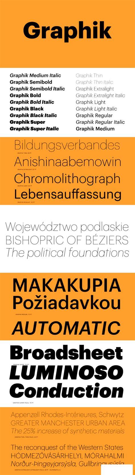 Graphik Bold Font Free Download