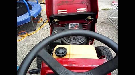 deck  hp murry riding mower clist youtube