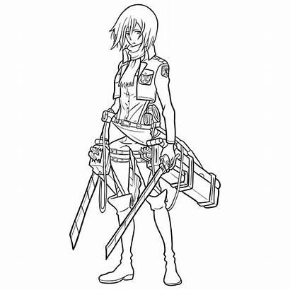 Mikasa Ackerman Draw Step Easy Learn