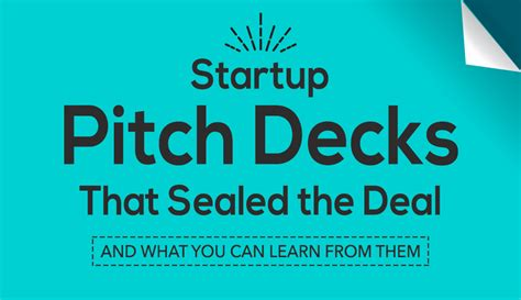 Startup Pitch Decks by Visme Visual Learning Center Infographics Presentations
