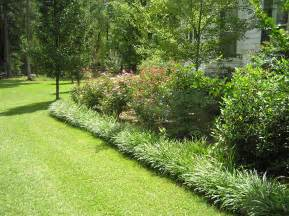 Monkey Grass Border Landscaping