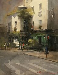 Watercolor Artists Paintings
