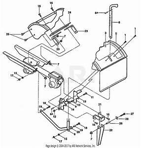 Troy Bilt 12214 Bronco 5 5hp Tiller Parts Diagram For Tine