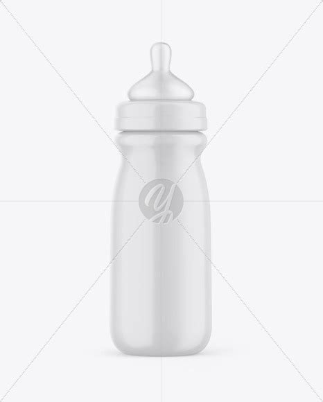 Perfect to use for a product promotion by just changing the label of the bottle. Glossy Baby Bottle Mockup in Bottle Mockups on Yellow ...