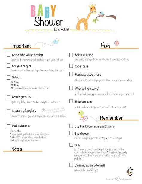 Walmart Gift Registry Baby Shower by Photo Baby Shower Planning Checklist Excel Image