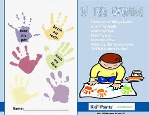Child Personal Hygiene Chart Daily Routine Charts For Kids Collection 25 Pages