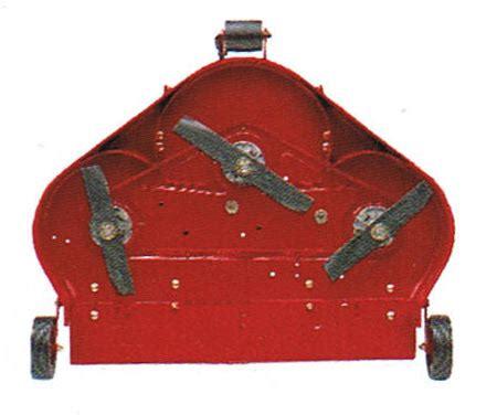vermont toro classic series 36 inch rear discharge mower deck
