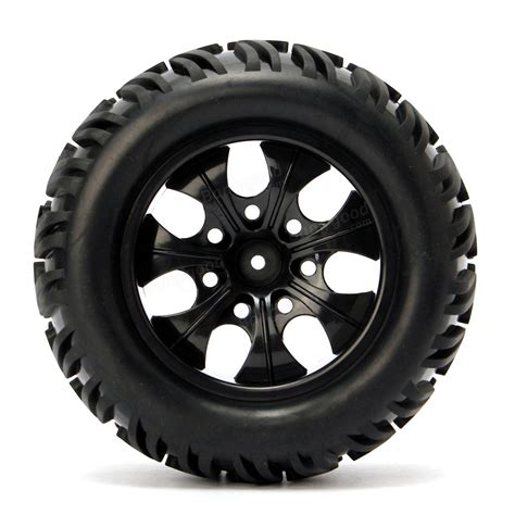 wheels monster truck videos 4pcs wheel rim tires hsp 1 10 monster truck rc car 12mm