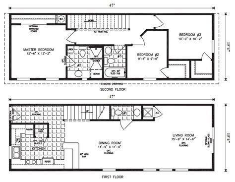 lovely  oak mobile homes floor plans  home plans design