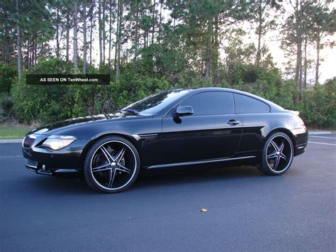 """2004 Bmw 645ci Sport Package Pano Roof 22 """" Wheeels And Tires"""