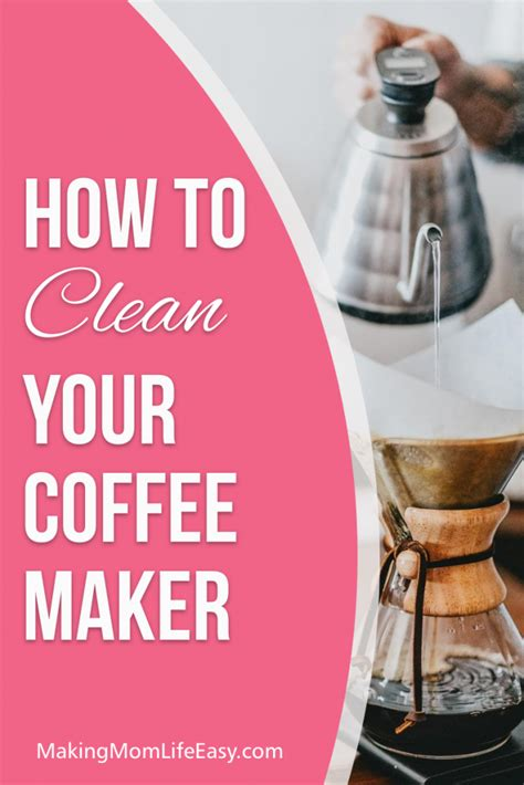 Do you scoop the grounds out with a spoon? How to Clean a Coffee Maker Without Vinegar in 5 Easy Steps