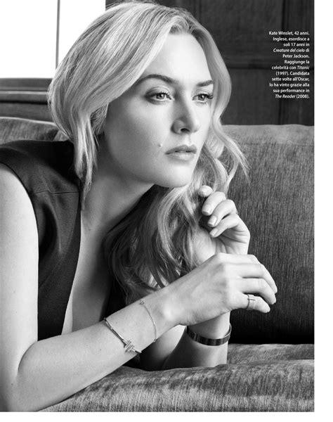 Кейт уинслет родилась 5 октября 1975 года в рединге, графство беркшир, в семье роджера уинслета и салли бриджес. KATE WINSLET in F Magazine, May 2018 Issue - HawtCelebs
