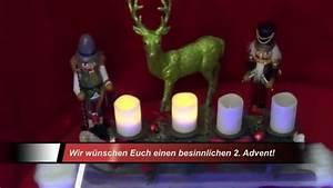 Grüße Zum 2 Advent Lustig : gr e zum 2 advent youtube ~ Haus.voiturepedia.club Haus und Dekorationen
