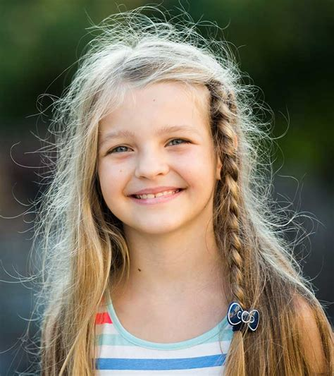 Hairstyle Kid by 4 Simple Hairstyles For With Hair