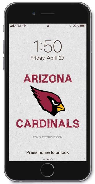 arizona cardinals lock screen schedule