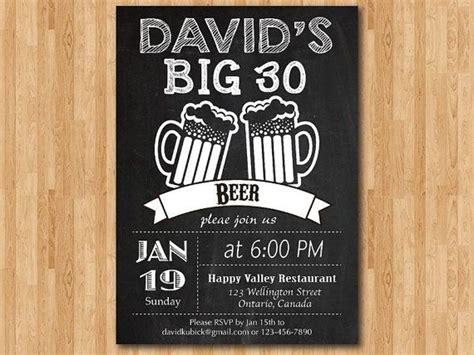 Free 30th Birthday Invitation Templates 30th birthday