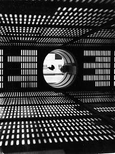 Inside the set of the HAL 9000 supercomputer