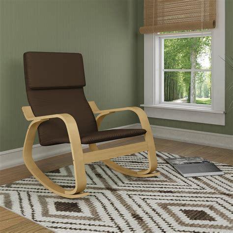 artek rocking chair contemporary rocking chair fabric