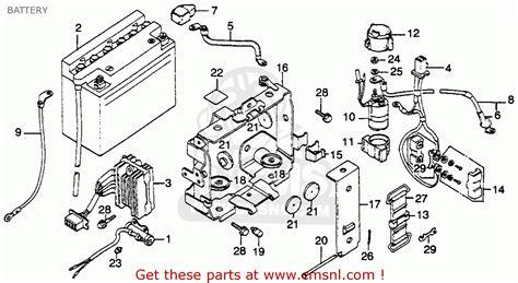 honda gl1000 goldwing 1979 z usa battery buy battery spares