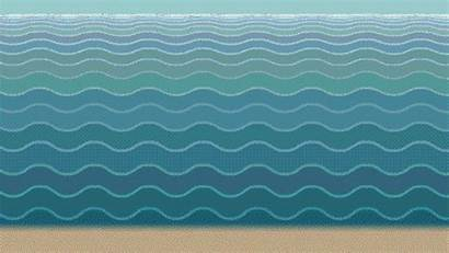Waves Strange Animated Gifs Give Them Colors
