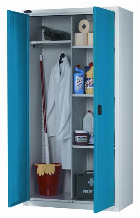 Wardrobe With Shelves Only by Industrial Cupboard 3 Adjustable Shelves Hanging Locker