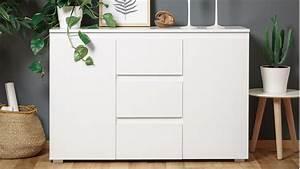 Kommode Weiß Hochglanz 120 Cm : sideboard blanc 4 grifflose kommode in wei 120 cm breit ~ Bigdaddyawards.com Haus und Dekorationen