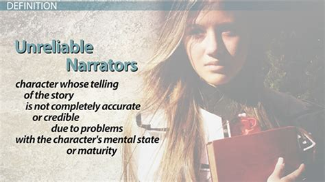 unreliable narrator definition examples video