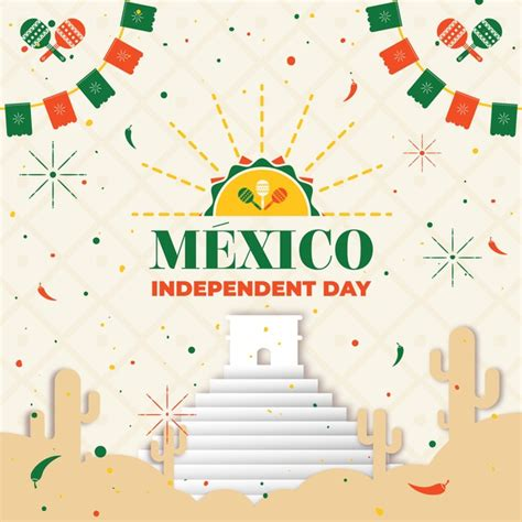 Mexico independence day concept | Free Vector