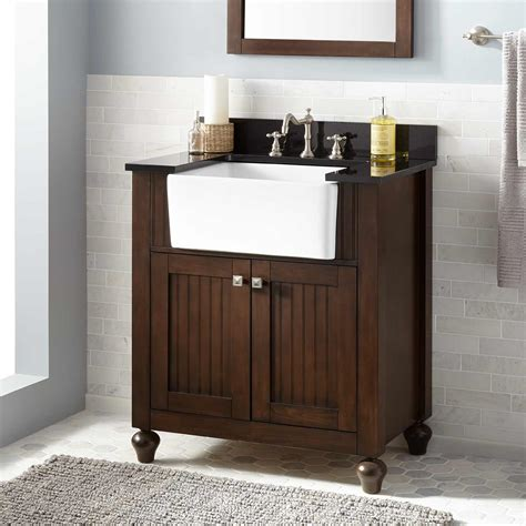 Sink With Vanity For Small Bathroom by Bathroom Wood Sink Vanity Signature Hardware