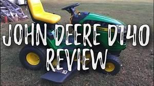 John Deere D140  Walk-around Review