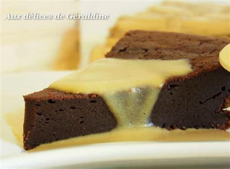 aux d 233 lices de g 233 raldine fondant chocolat au mascarpone sans beurre et cr 232 me anglaise aux