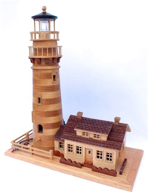 england lighthouse birdhouse woodworking plan