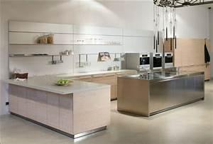 Modele Cuisine En L : 35 mod les de cuisine am nag e et id es de plan de cuisine ~ Teatrodelosmanantiales.com Idées de Décoration
