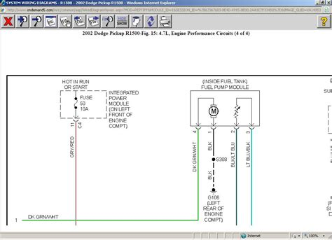 Fuel Pump Wiring Diagram Trying Replace The