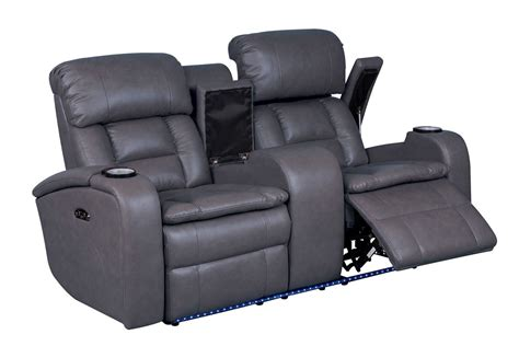 Power Reclining Loveseats With Console by Zenith Power Reclining Loveseat With Console