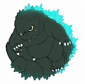 Pics For > Cute Godzilla Drawing