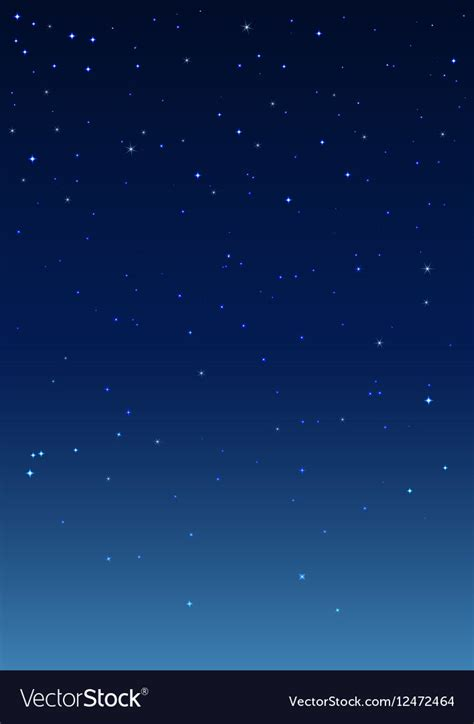 Starry Sky Image by Starry Sky Vertical Background Royalty Free Vector