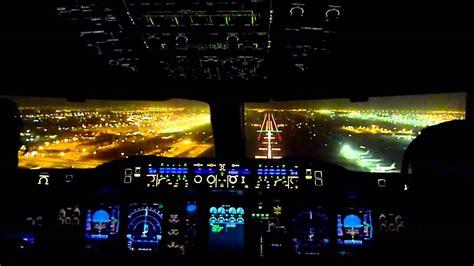 atterraggio  cabina   airbus  della emirates