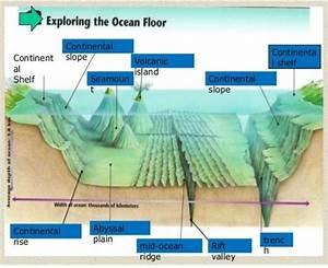 Science Underwater Landforms