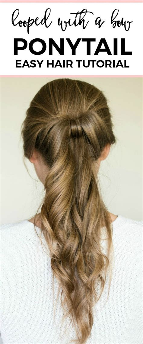 Cool Easy Ponytail Hairstyles by Best 25 Easy And Hairstyles Ideas On