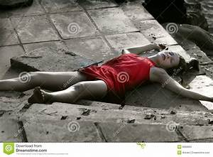 Crime scene, dead woman stock image. Image of outdoor ...